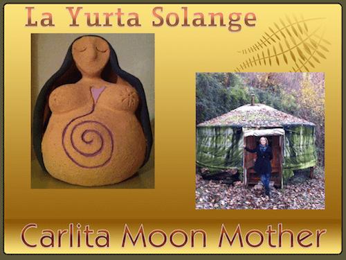 carlita moon mother la yurta solange lago di garda