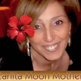 Carlita Moon Mother: Benedizione del Fiore Rosso alla Yurta Solange