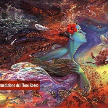 I racconti del Fiore Rosso: La Donna Splendente con il Fiore Rosso