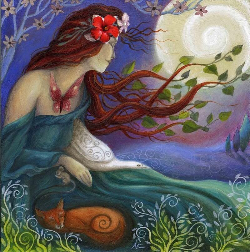 Energia della Vergine: Attivazione Energetica di Luna Piena